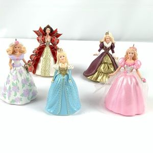 5 Hallmark Keepsake Barbie Christmas Ornaments